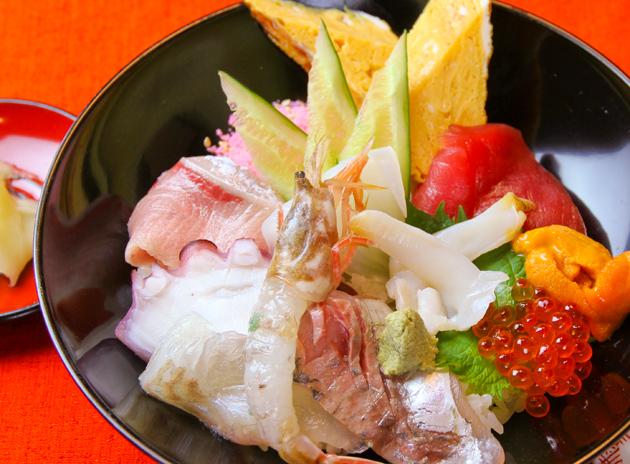 信寿し_海鮮すし丼