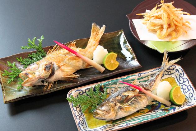 信寿し_本日の焼き魚